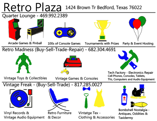 Retro Plaza Bedford